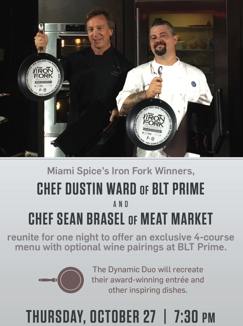Meat Market Miami BLT Prime Dinner collab