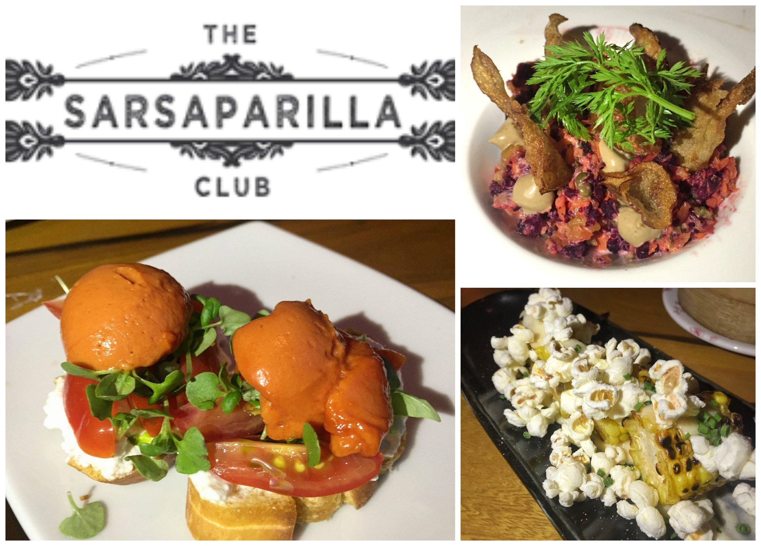 Sarsaparilla Club Chef Tasting Menu
