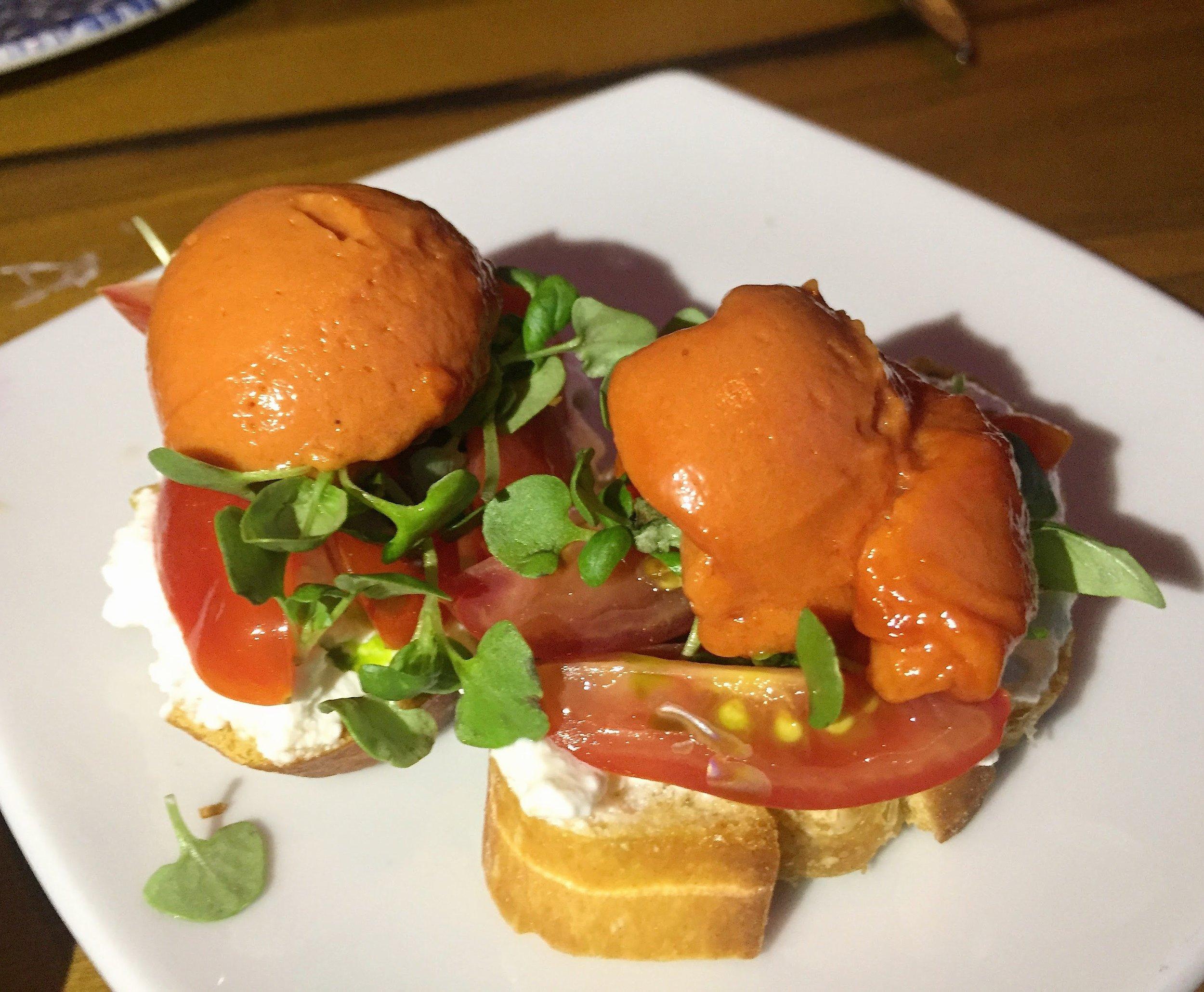 Sarsaparilla Club Tomato Toast
