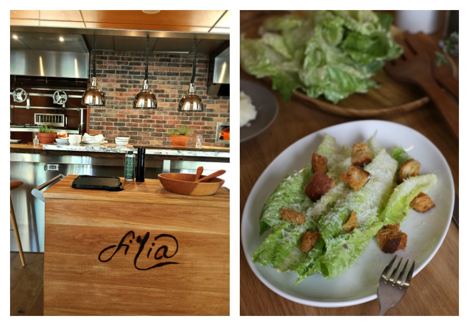 Fi'lia Restaurant Tableside Caesar Salad