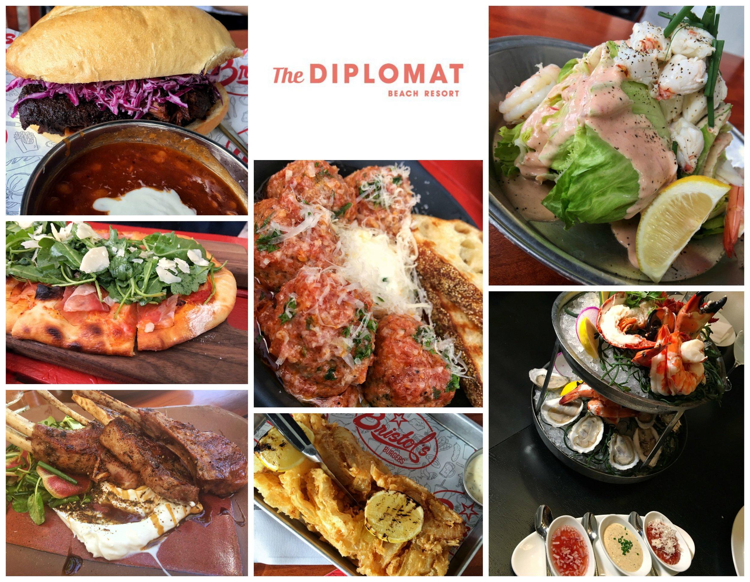 Diplomat Resort Hollywood dining options