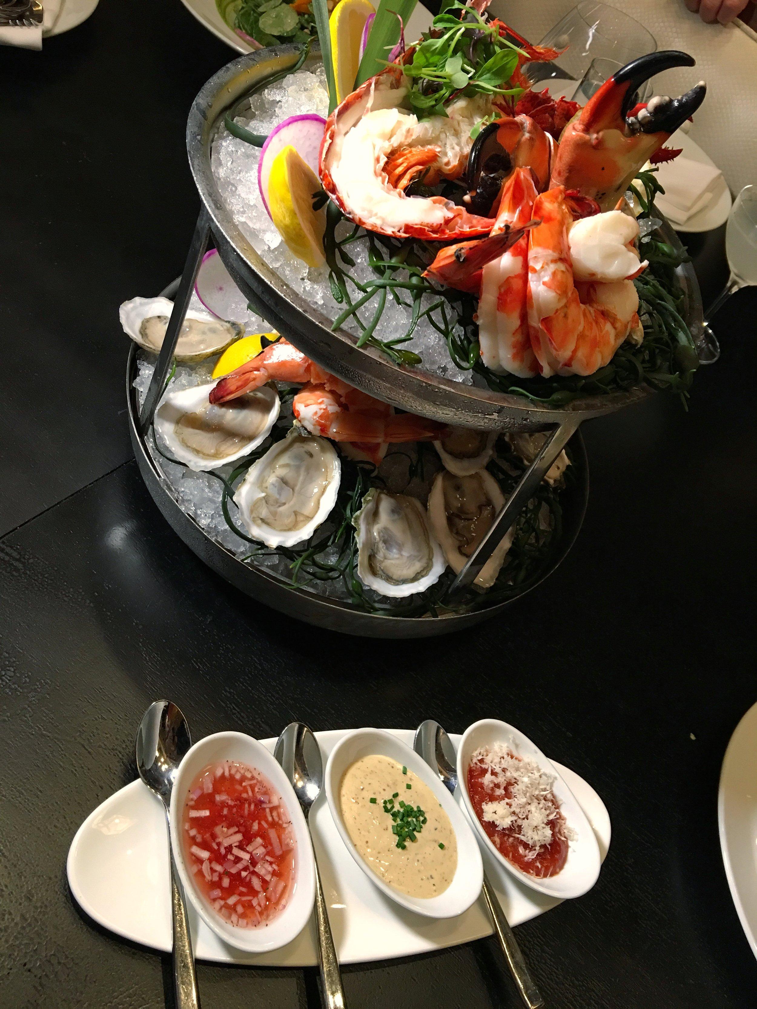 Diplomat Resort Prime Seafood Tower