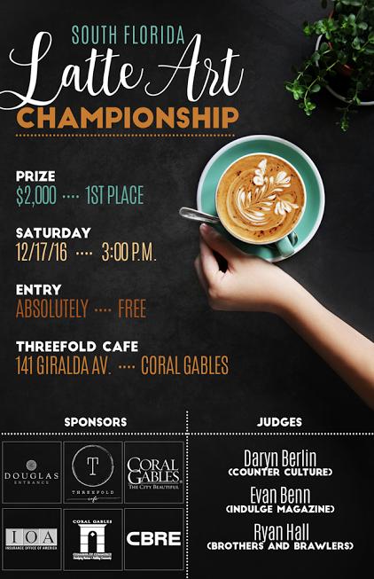 Miami Latte Art Championship
