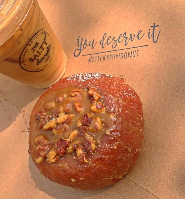 Salty Donut Knaus Berry Farm donut