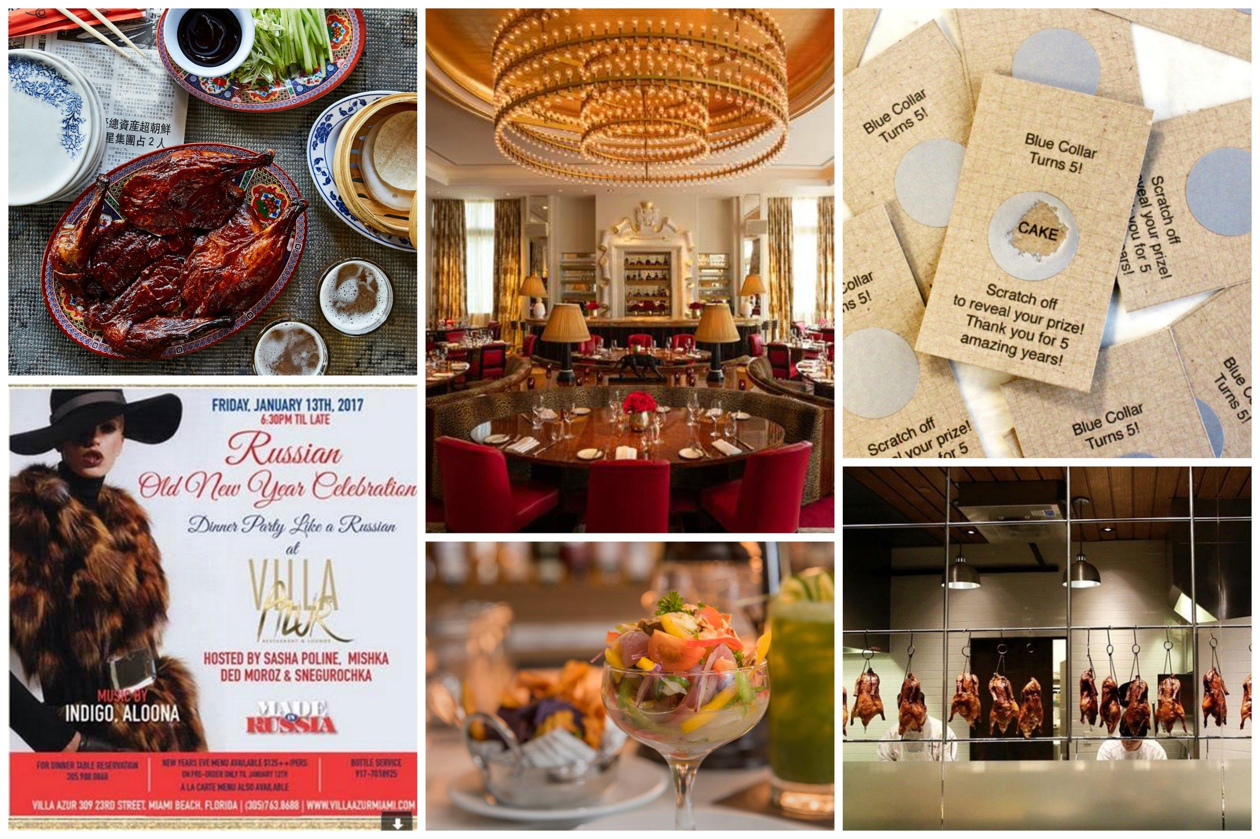 Miami Food Events Weekly 1.11.17 MIAbites