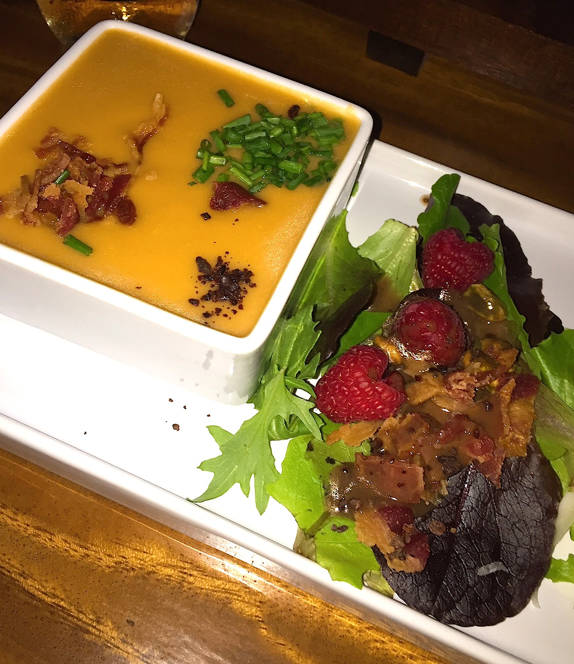 Patch of Heaven Cacao dinner Soup & salad