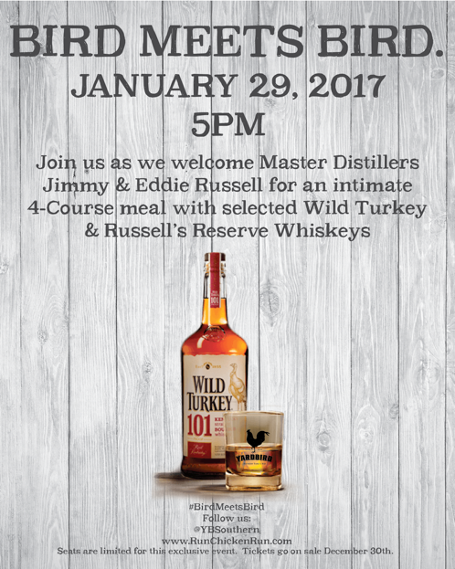 Yardbird Miami Wild Turkey Dinner