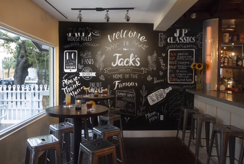 Jacks Miami Chalkboard Specials