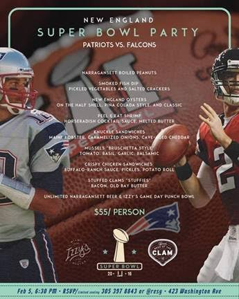 Super Bowl 51 Izzy's Miami