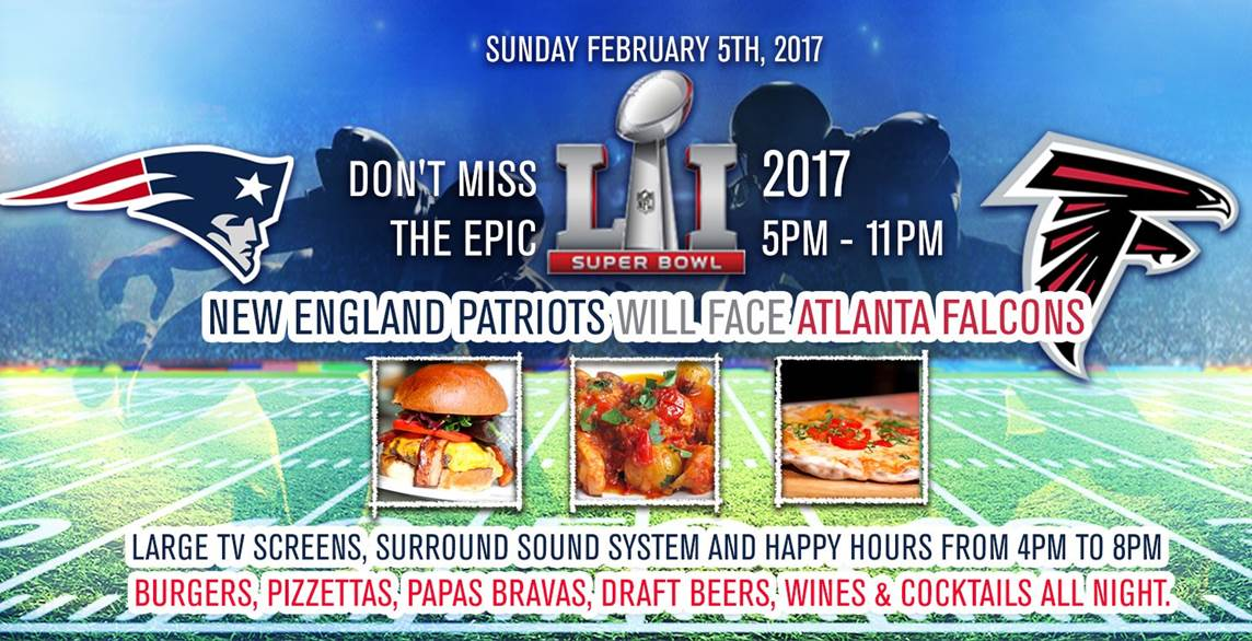 Brasserie Azur Super Bowl 51 Miami