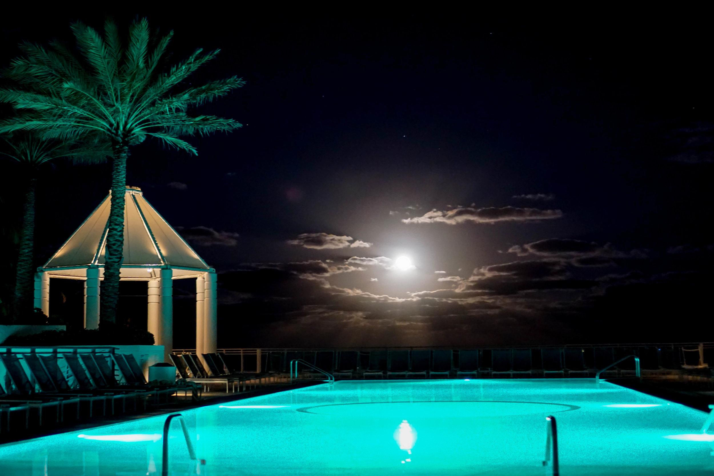 Diplomat Resort and Spa Full Moon Rising