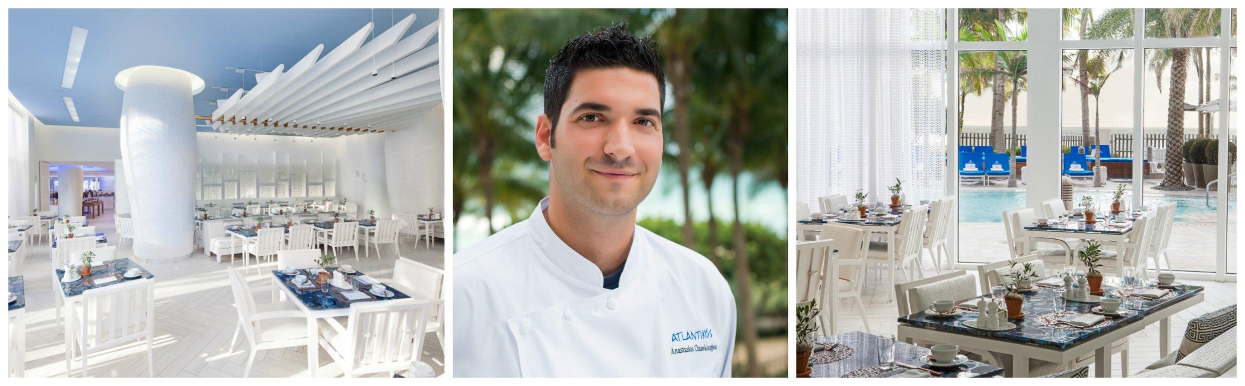 Atlantikos St Regis Interior and Chef