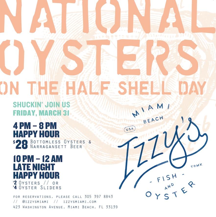Izzy's Fish & Oyster Miami Beach