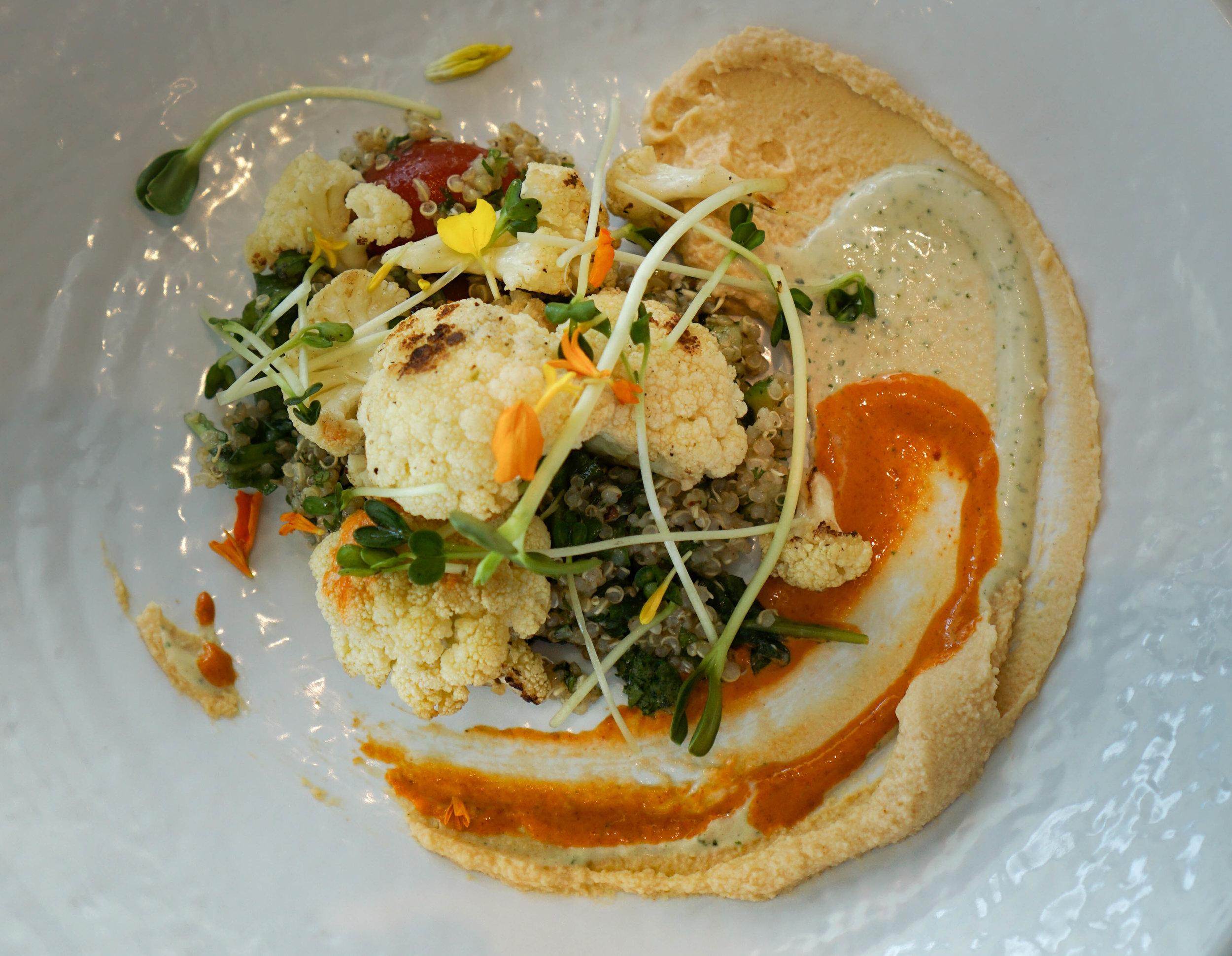 Plnthouse 1 Hotel Cauliflower Quinoa Bowl
