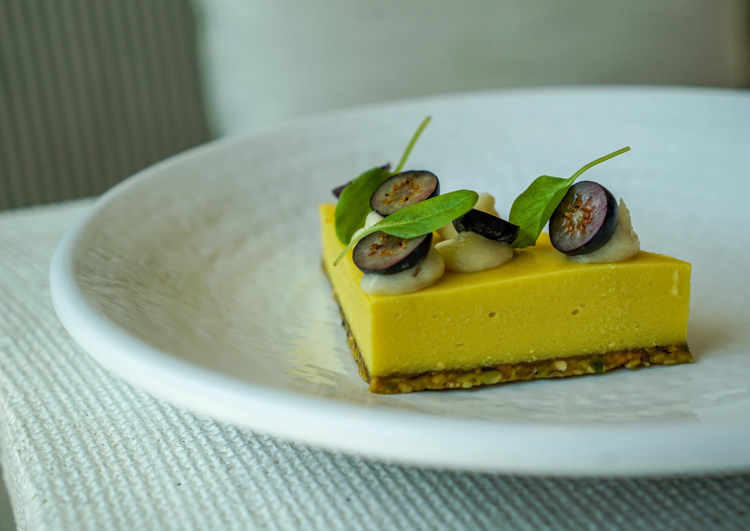 Plnthouse 1 Hotel Mango Cheescake dessert