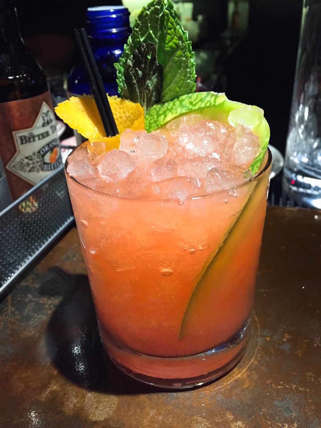 Wynwood Diner Miami Melon cocktails