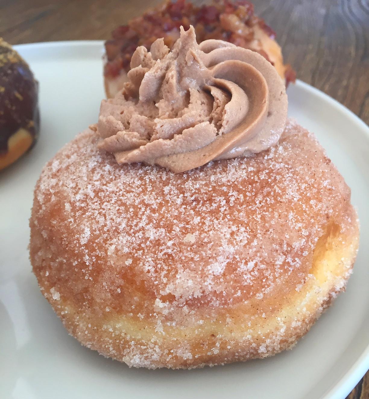 Sweetness Bakeshop Nutella Churro donut