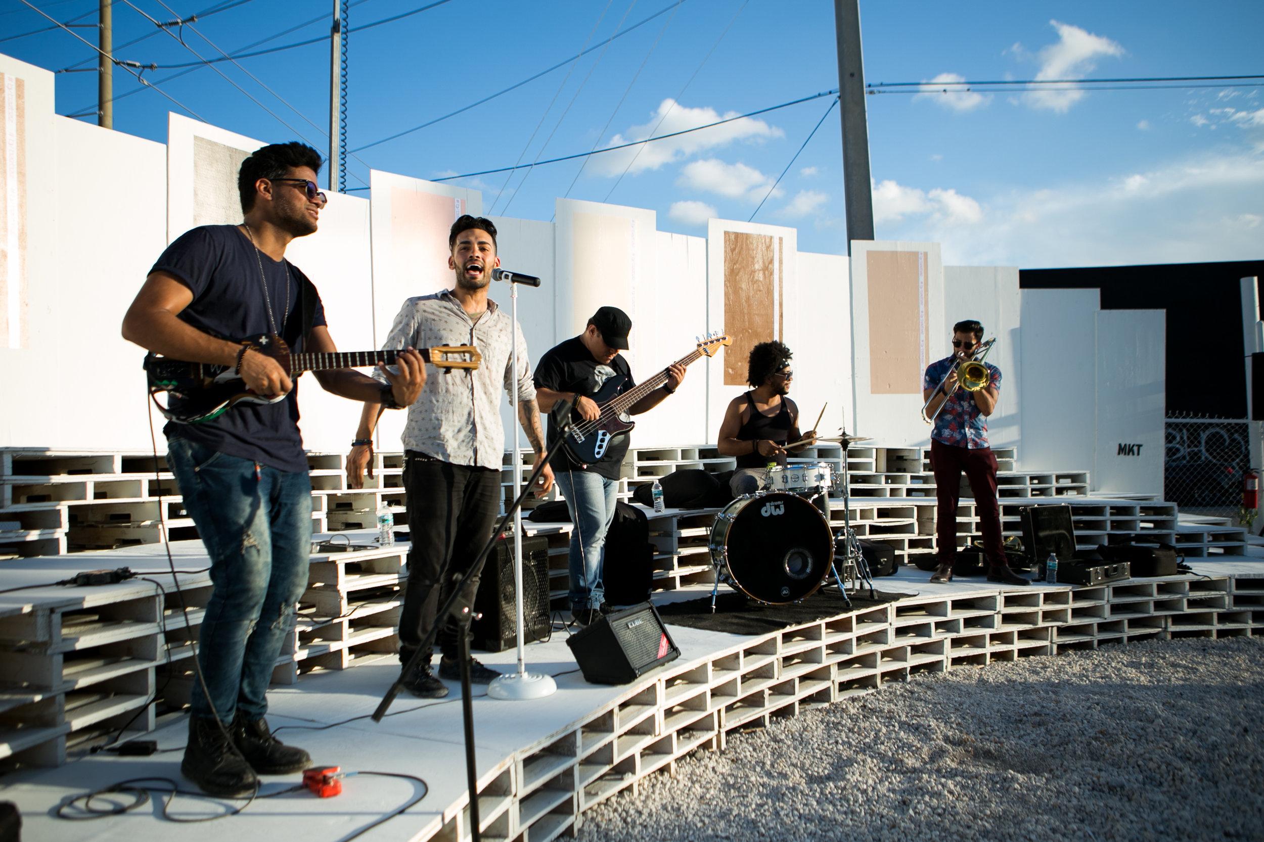 MKT by bazbaz Amphitheater music