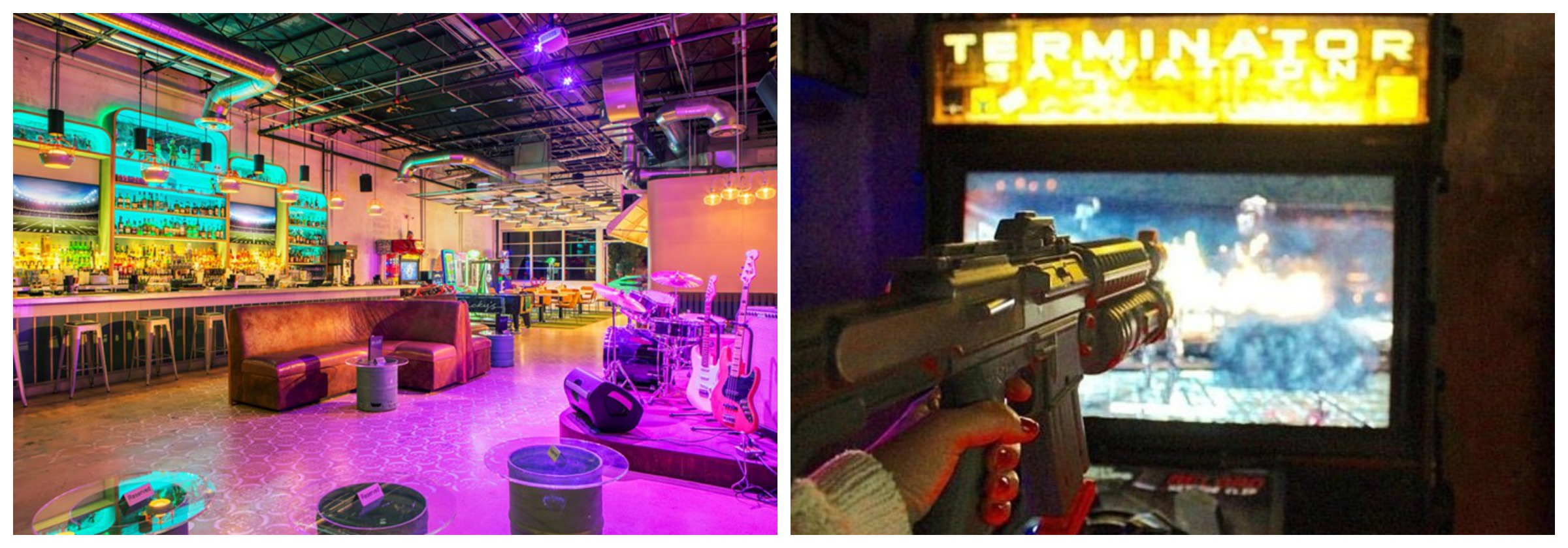 Ricky's Miami Beach Arcade games