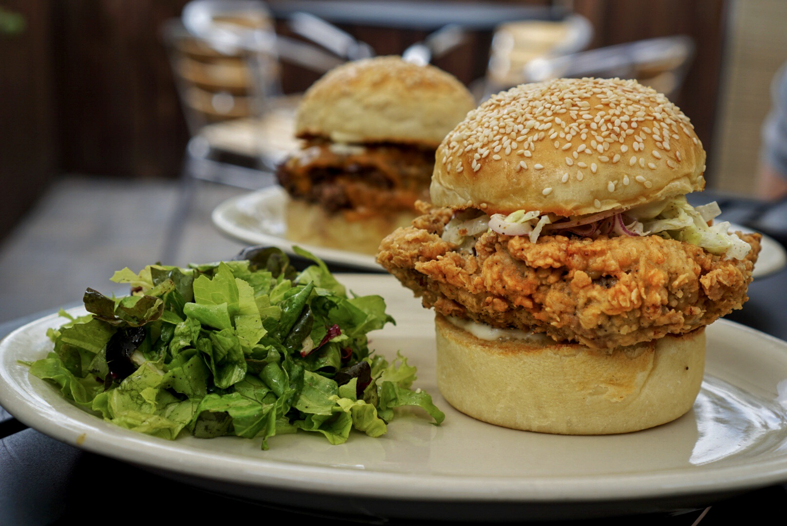 Proof Miami Chicken Sandwich and Burger
