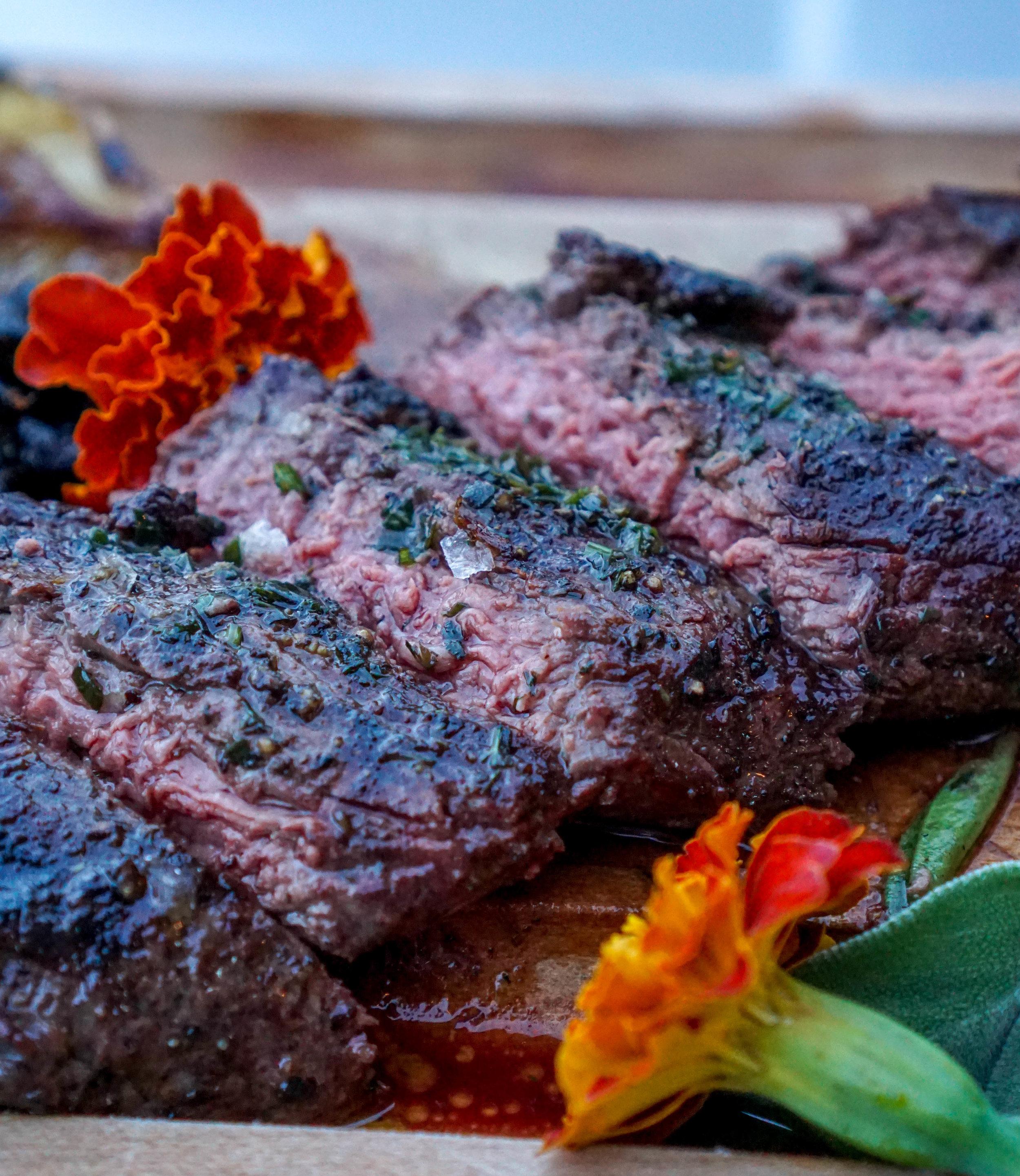 Charcoal Miami Hanger Steak