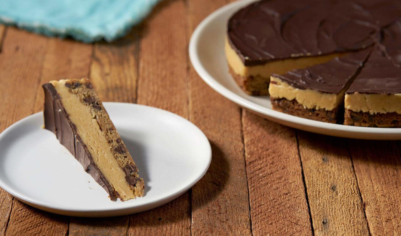 Just Cookie Dough Peanut Butter Pie