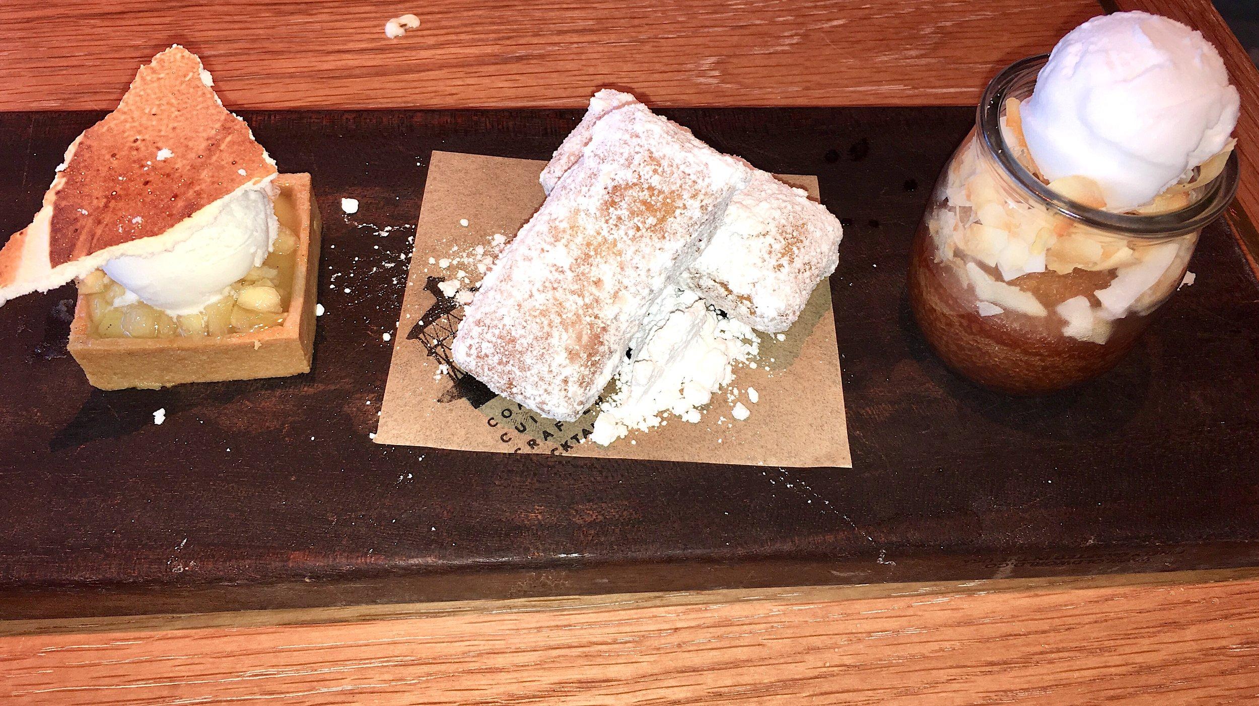 Lightkeepers Dessert Trio