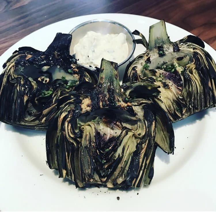 Doc B's Gluten Free Fort Lauderdale artichokes