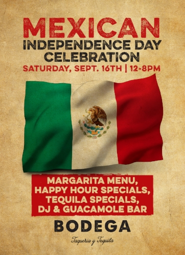 bodega mexican independence