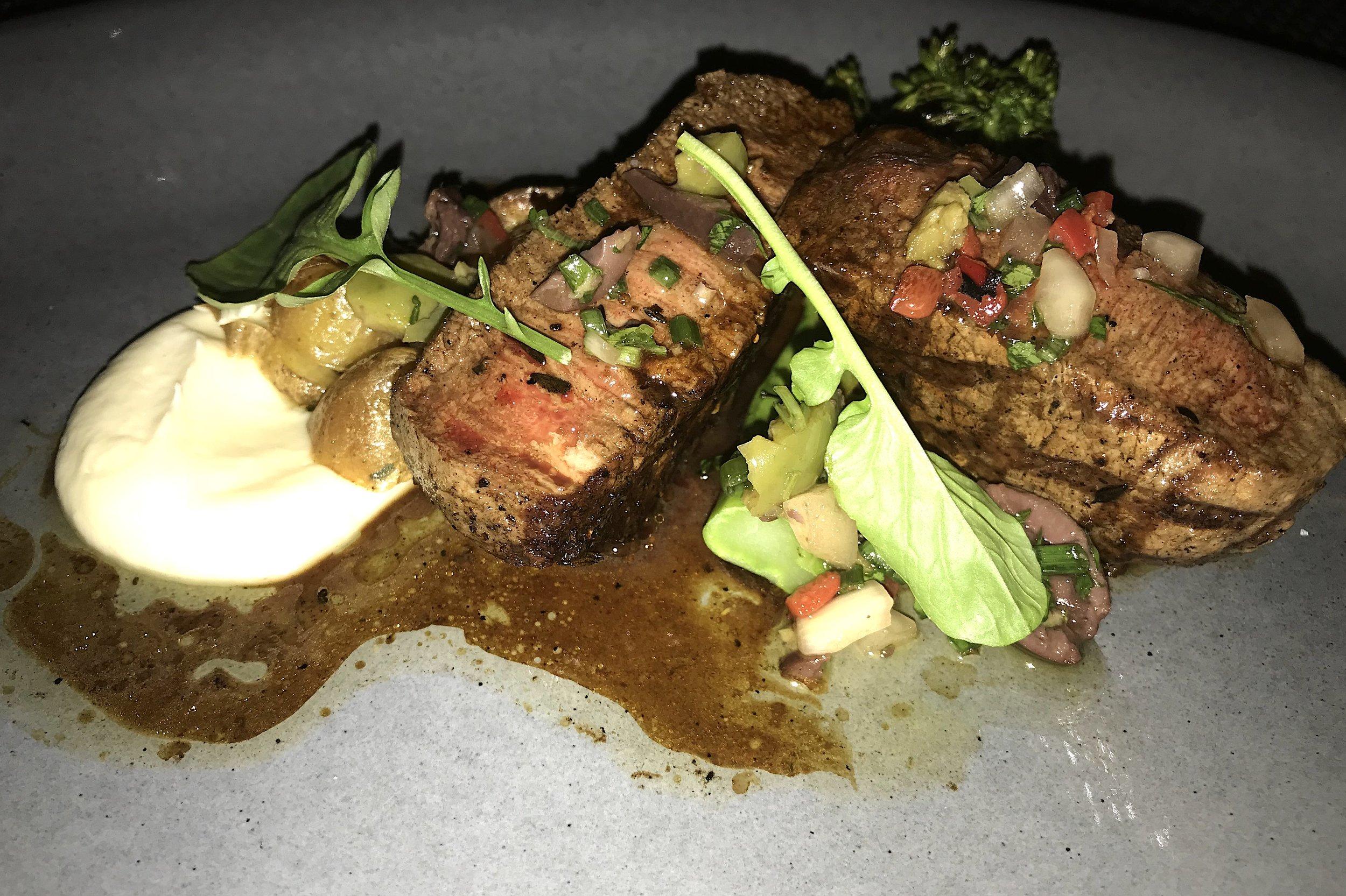 3030 Ocean Grilled beef tenderloin