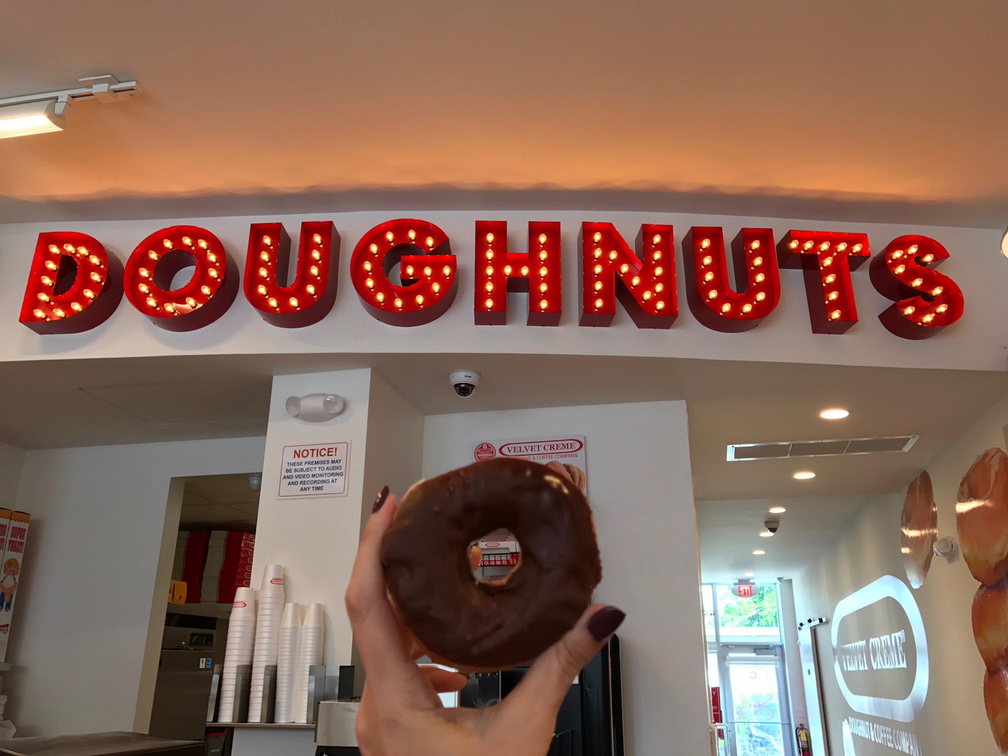 Velvet Creme Donuts Little Havana Miami