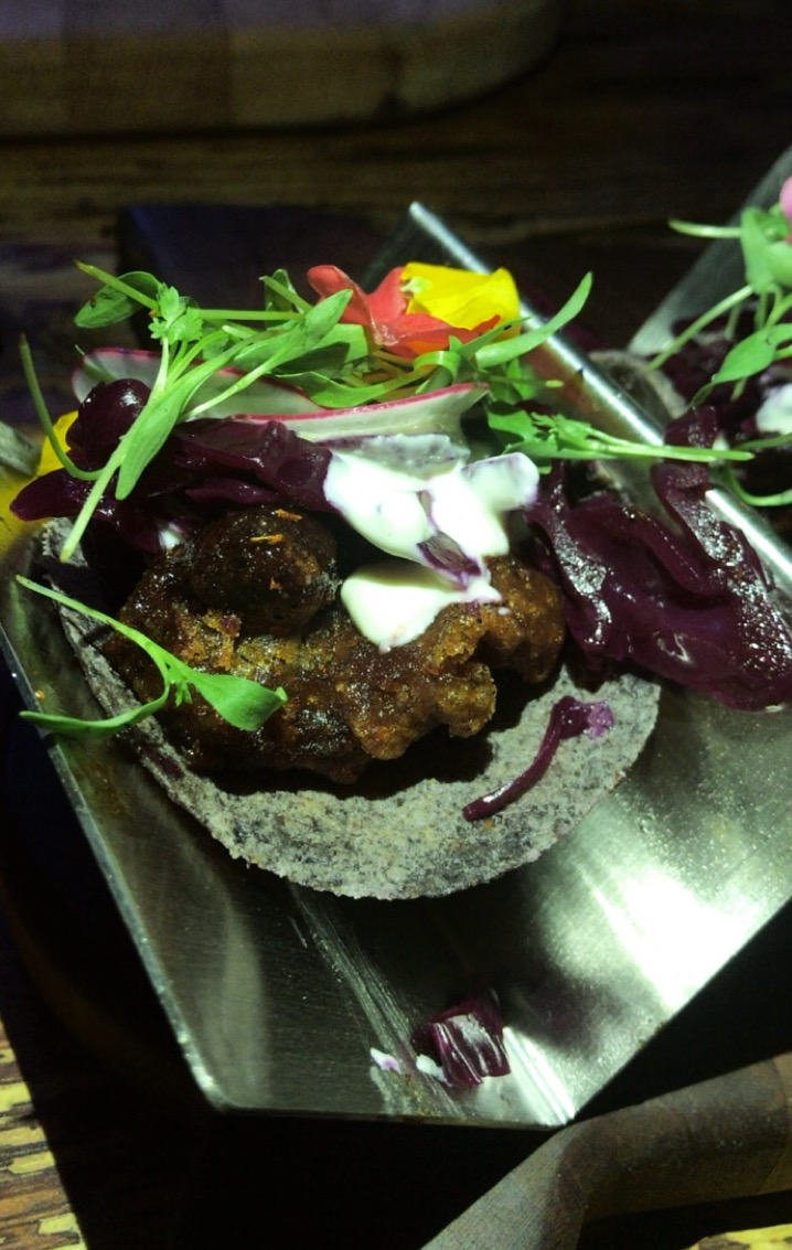 Soul Tavern Miami Beach Vegan Taco