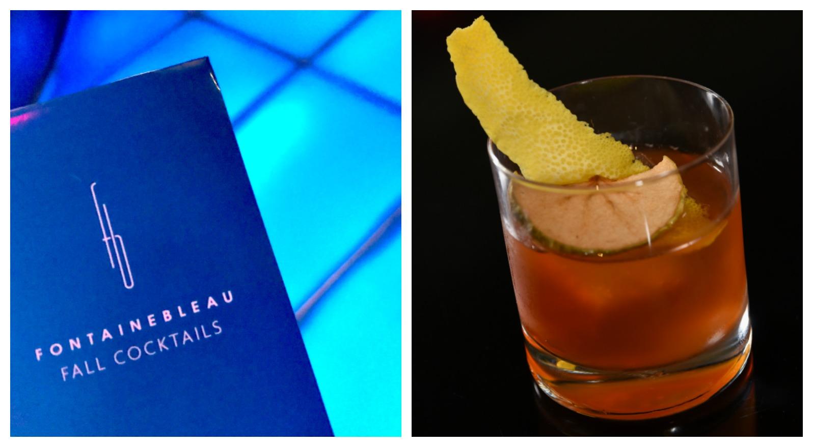 Fontainebleau Miami Bleau Bar cocktails
