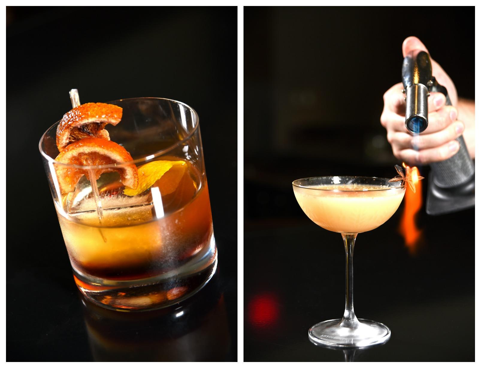 Fontainebleau Scarpetta Cocktail Collage