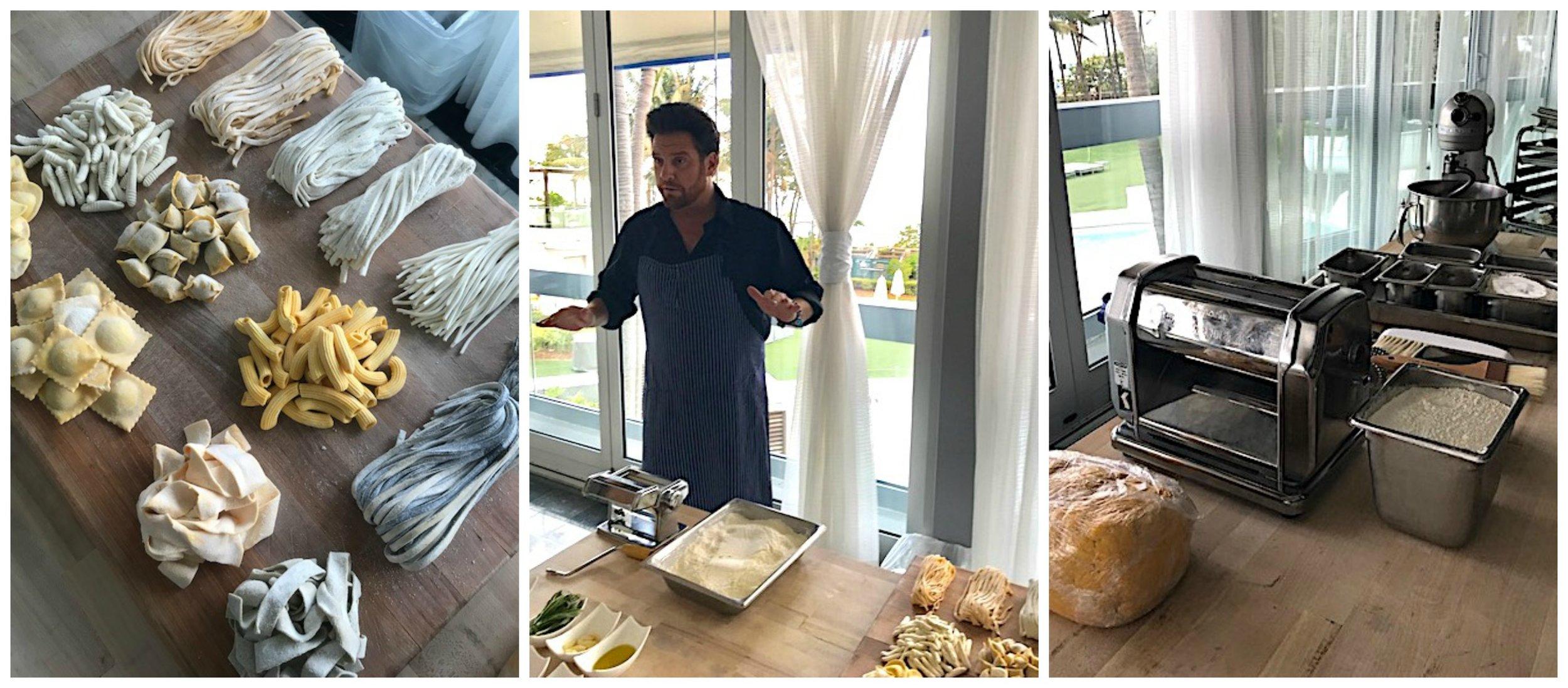 Scott Conant Scarpetta Miami Pasta Making