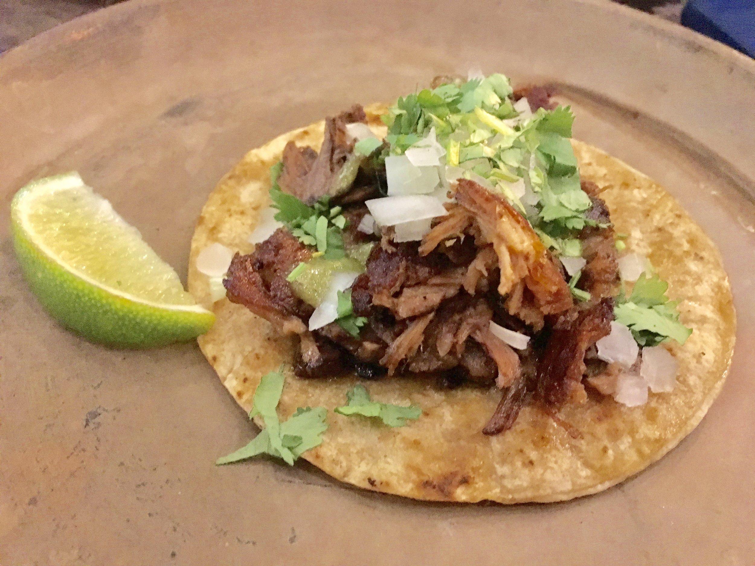 La Santa Taqueria Miami Suadero Taco
