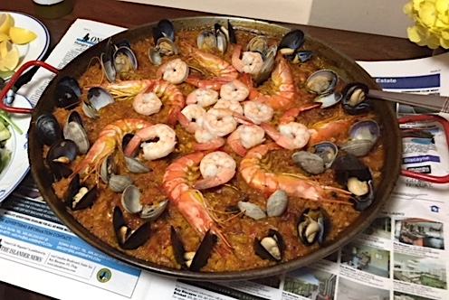 Kebo Restaurant Key Biscayne Paella risotto