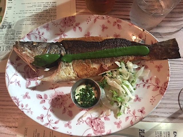 Barceloneta Whole Fish
