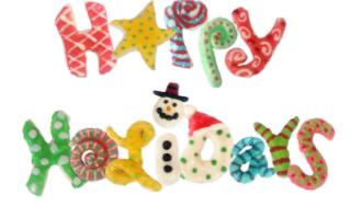 Happy Holidays Cookies MIAbites 2017
