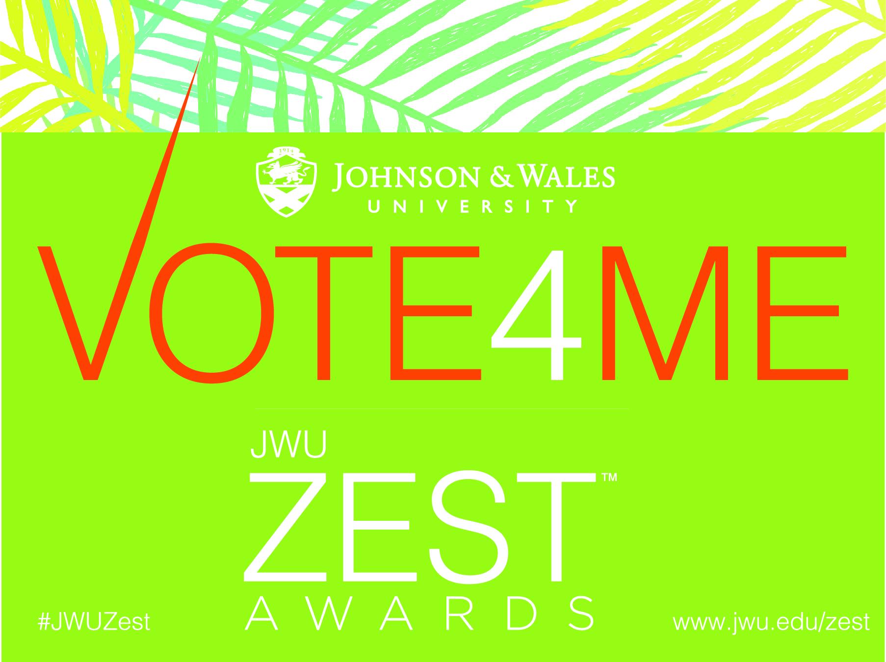 JWU Zest Awards 2018 Top Food Influencer MIAbites