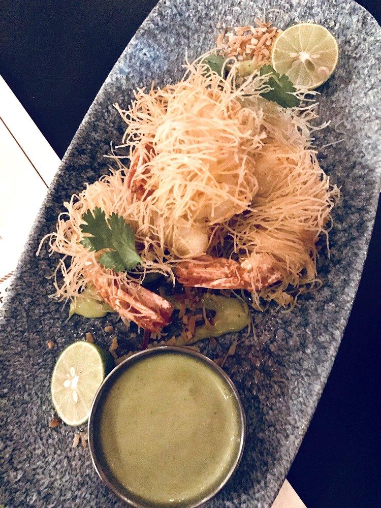 Stiltsville Fish Bar Miami Coconut Wrapped Shrimp