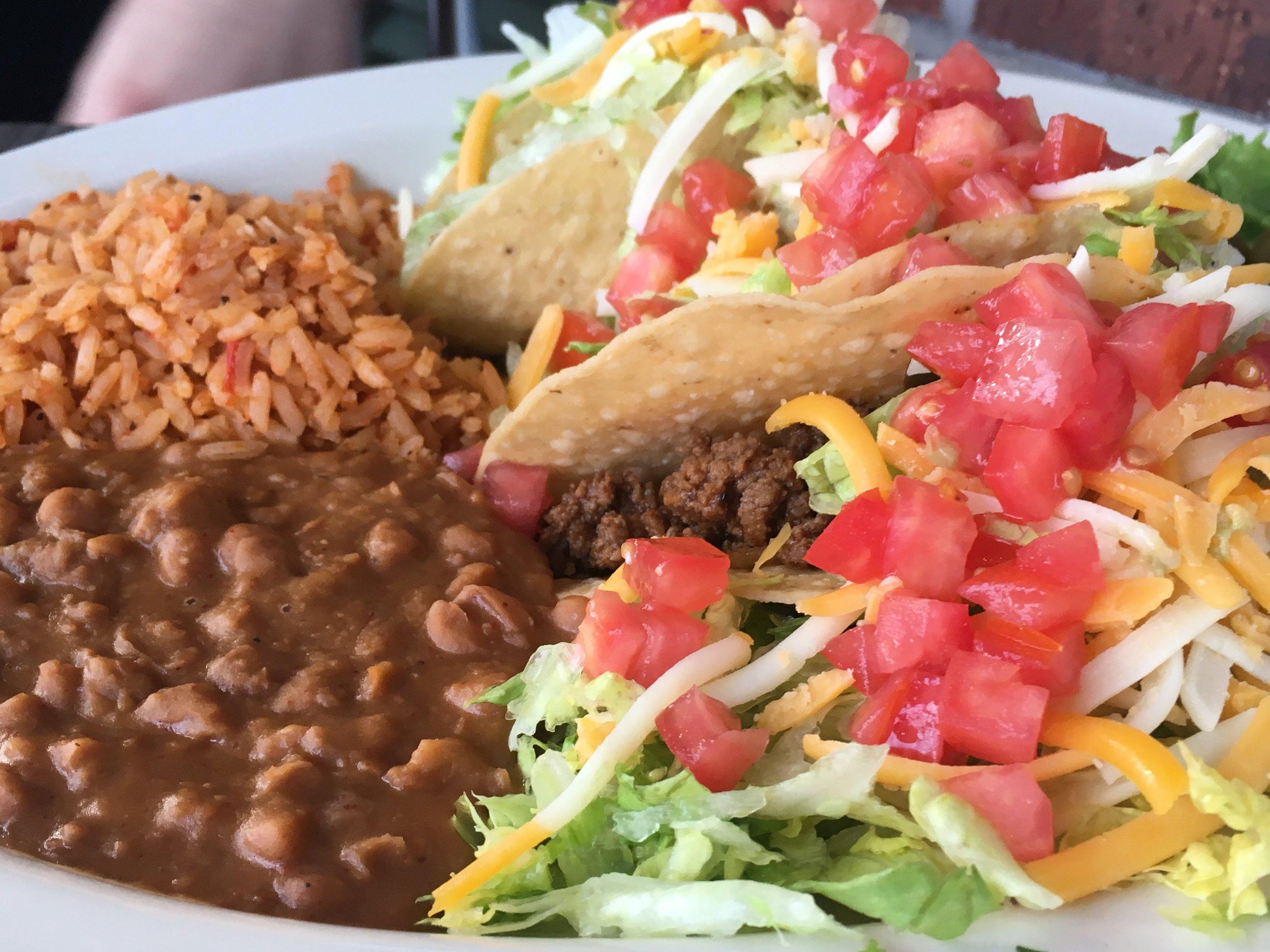 Chuys Tex Mex Doral Miami Crispy Tacos