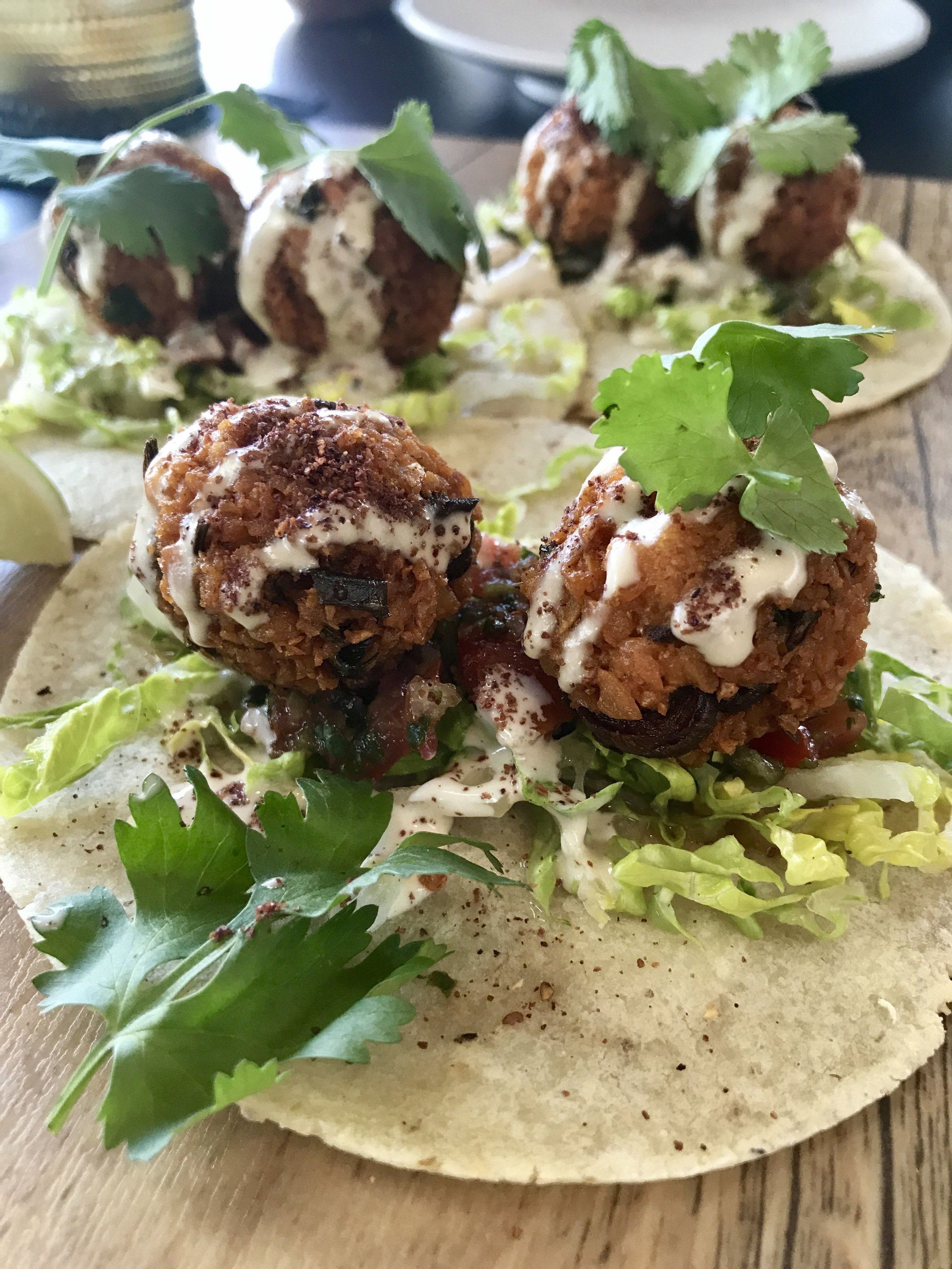 Planta South Beach Falafel Tacos