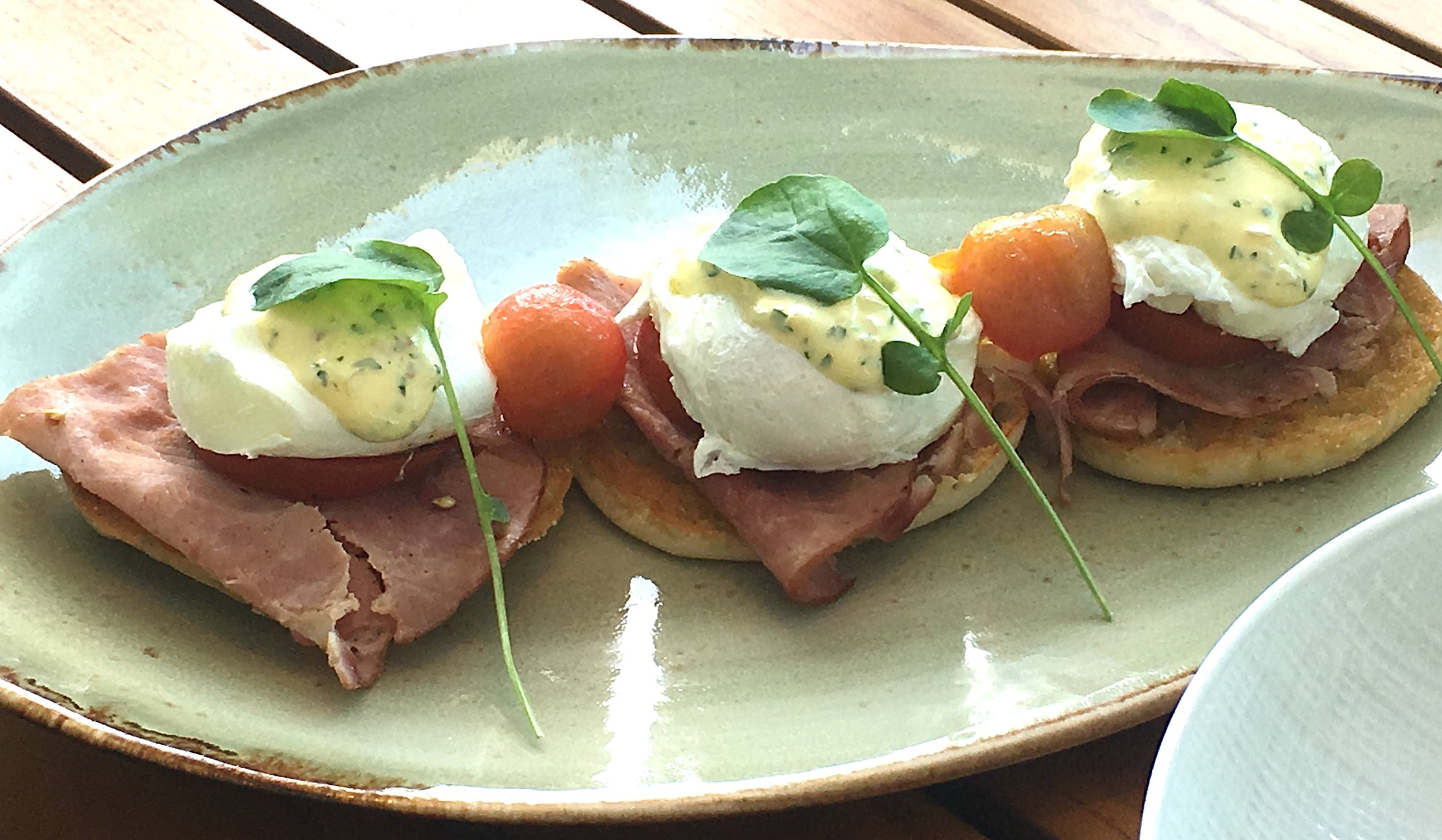The Strand Miami Brunch Eggs Benedict