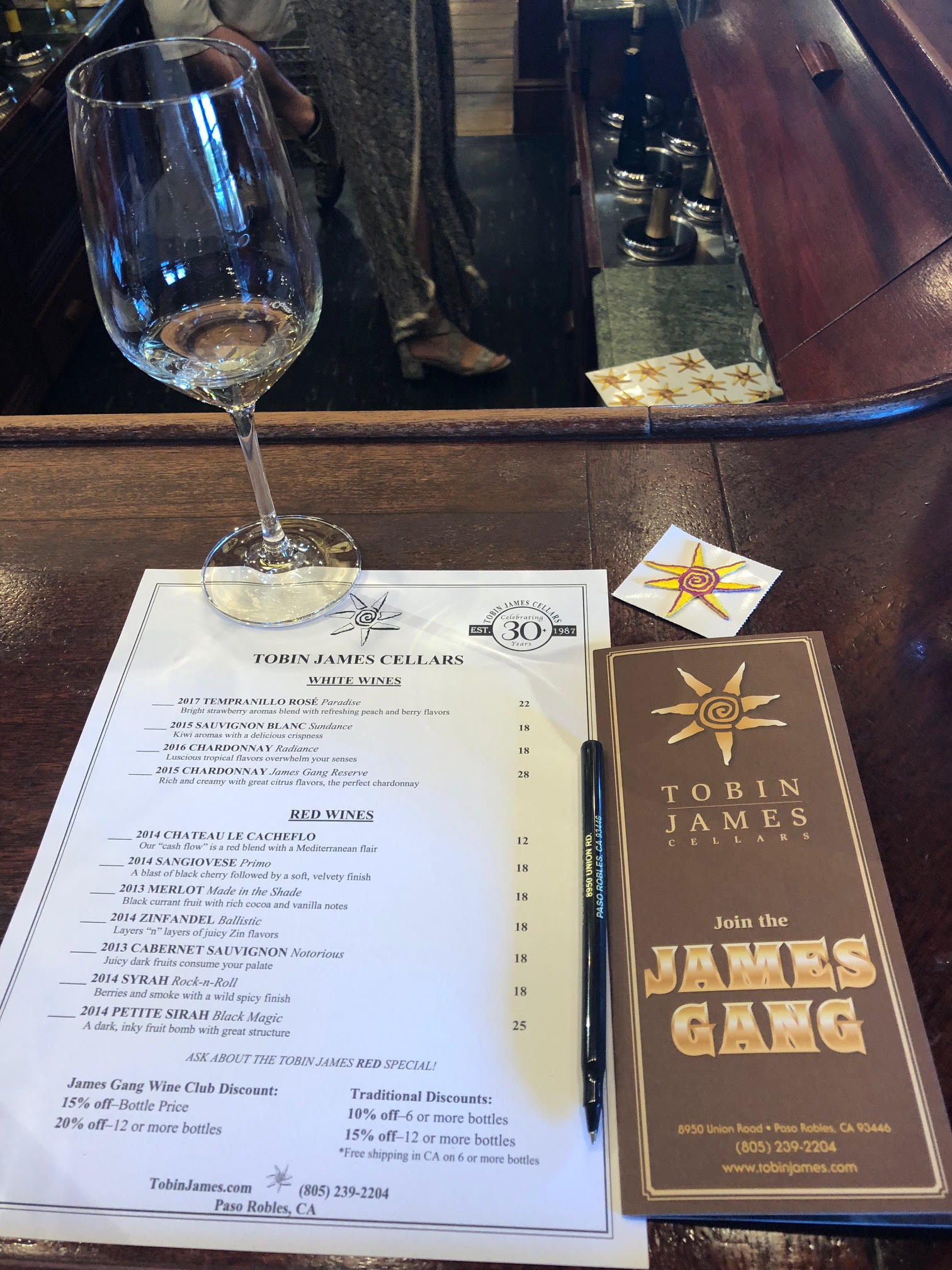 Tobin James Wine list.jpg