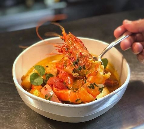 Ceviche from Pao's Chef Collective featuring Diego Oka