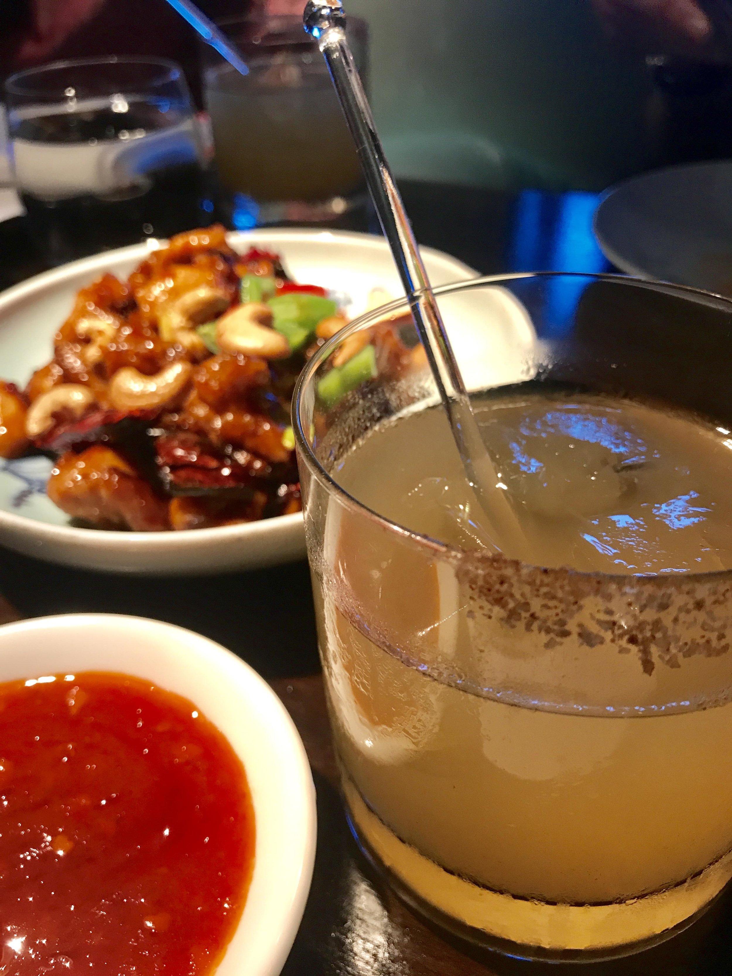 Hakkasan Miami Spice Diced Chicken with Chilis