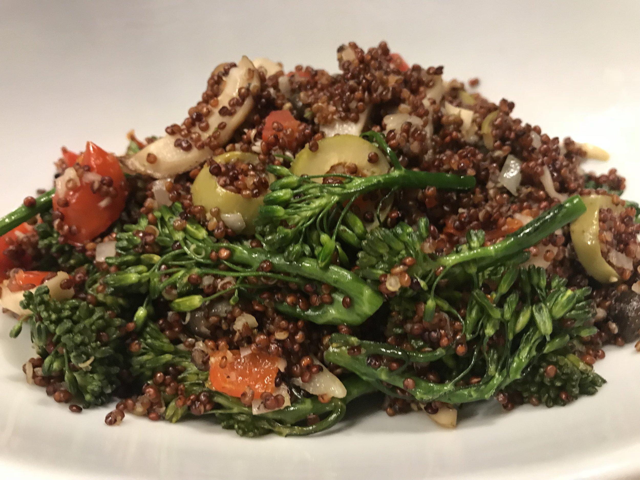 Sea Level Quinoa Bowl