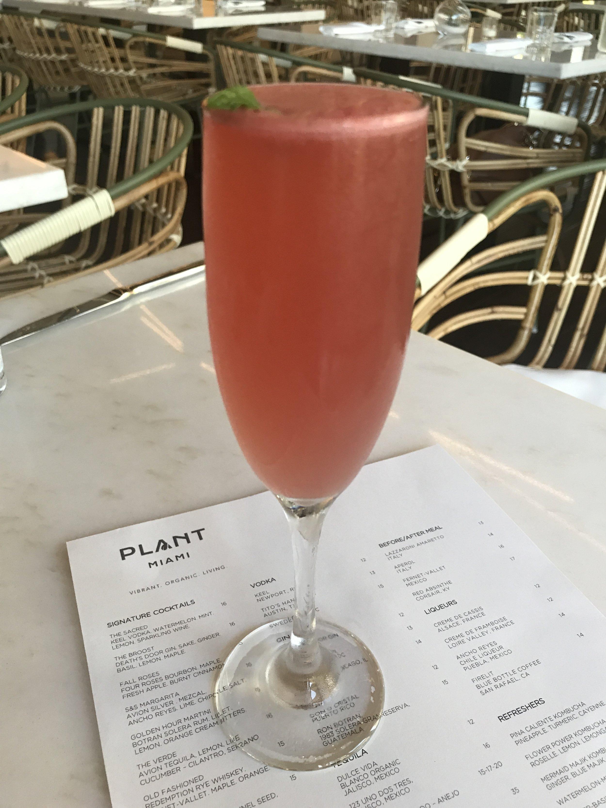 Plant Miami Keel Vodka Sacred