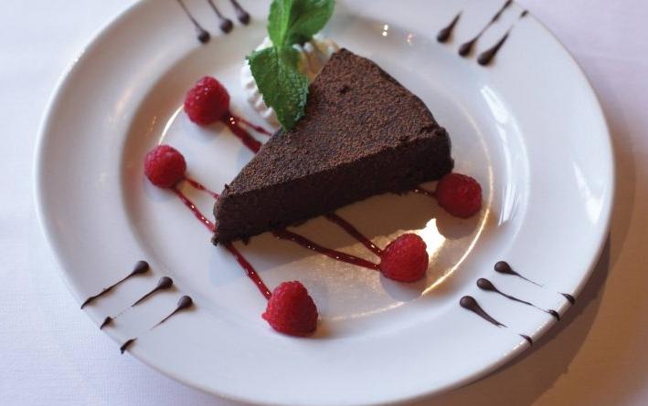 flourless espresso chocolate cake national coffee day